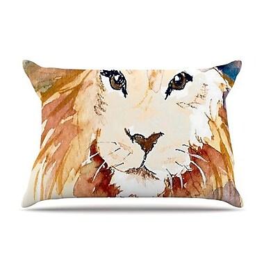 KESS InHouse Leo Pillow Case; Standard