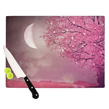 KESS InHouse Song of The Springbird Cutting Board; 11.5'' H x 15.75'' W x 0.15'' D