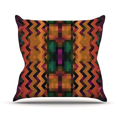 KESS InHouse Harvesta Throw Pillow; 18'' H x 18'' W