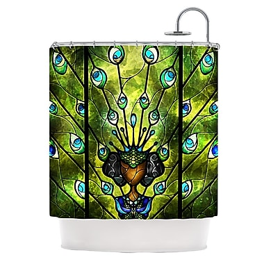 KESS InHouse Angel Eyes Shower Curtain