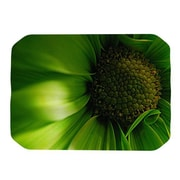 KESS InHouse Green Flower Placemat