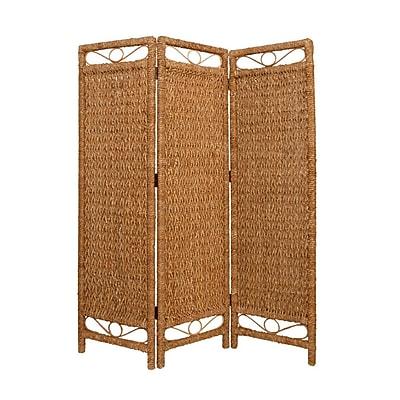Screen Gems 72'' x 60'' Palm Cascading 3 Panel Room Divider