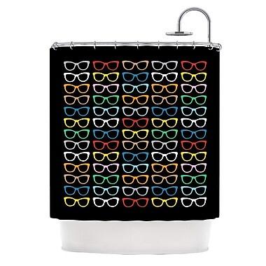 KESS InHouse Shower Curtain; Sunglasses At Night