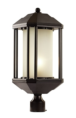TransGlobe Lighting Downtown Trolley 1-Light Lantern Head; Rubbed Oil Bronze