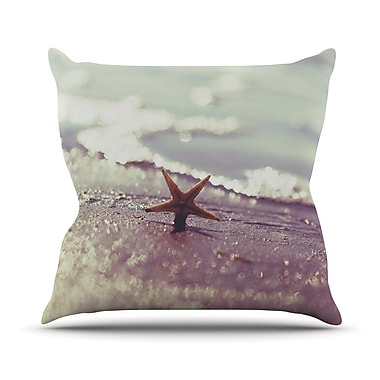 KESS InHouse You Are A Star Throw Pillow; 18'' H x 18'' W