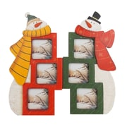 Craft Outlet Standing Snowman Picture Frame