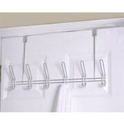 Home Basics 6 Hook over the Door Coat Rack