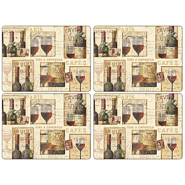Pimpernel The French Cellar Placemat (Set of 4)