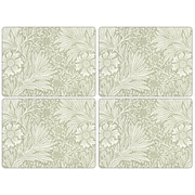 Pimpernel Morris and Co. Marigold Placement (Set of 4); Green