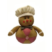 Craft Outlet Gingerbread Man Collectible Doll