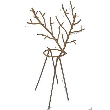 Craft Outlet Reindeer Votive Candle Holder; 12'' H x 6.5'' W x 5.5'' D