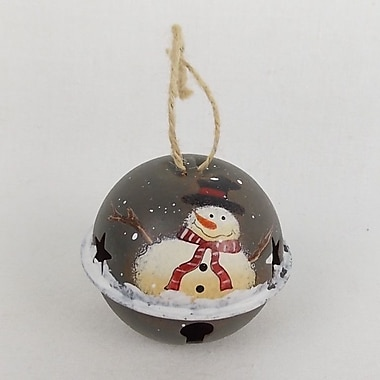 Craft Outlet Snowman Bell (Set of 6)