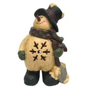 Craft Outlet Lighted Collectible Snowman w/ Shovel