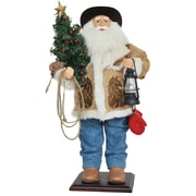 Santa's Workshop 24'' Home On The Range Santa