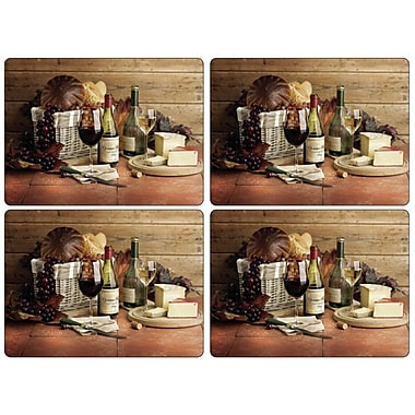 Pimpernel Artisanal Wine Placemat (Set of 4)