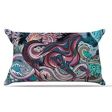 KESS InHouse Poetry in Motion Pillow Case; King