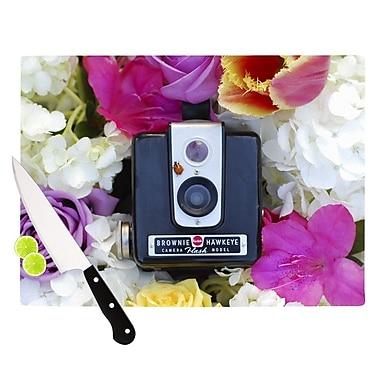 KESS InHouse The Four Seasons Spring- Cutting Board; 8.25'' H x 11.5'' W x 0.25'' D
