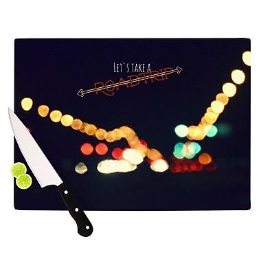 KESS InHouse Road Trip Cutting Board; 11.5'' H x 15.75'' W x 0.15'' D