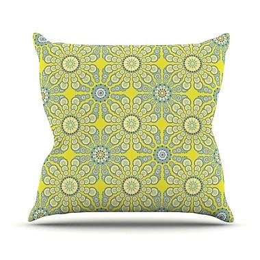 KESS InHouse Budtime Throw Pillow; 20'' H x 20'' W