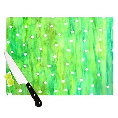 KESS InHouse Sprinkles Cutting Board; 11.5'' H x 15.75'' W x 0.15'' D
