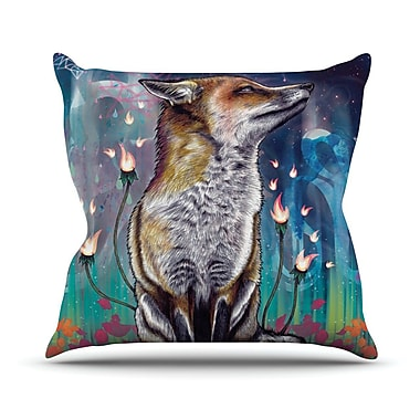 KESS InHouse There is A Light Throw Pillow; 26'' H x 26'' W