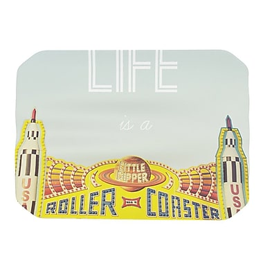 KESS InHouse Life Is A Rollercoaster Placemat