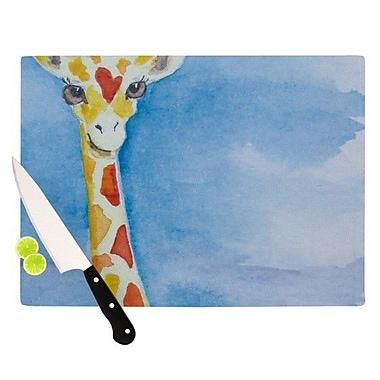 KESS InHouse Topsy Cutting Board; 11.5'' H x 15.75'' W x 0.15'' D