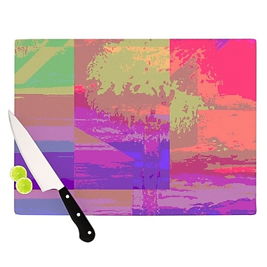 KESS InHouse Impermiate Poster Cutting Board; 8.25'' H x 11.5'' W x 0.25'' D