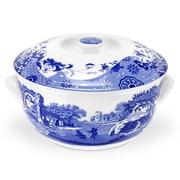 Spode Blue Italian Covered Vegetable Bowl