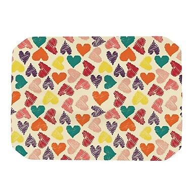KESS InHouse Little Hearts Placemat