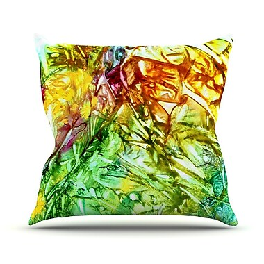 KESS InHouse Kaleidoscope Throw Pillow; 26'' H x 26'' W