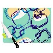 KESS InHouse Sixties Exposure Cutting Board; 11.5'' H x 15.75'' W x 0.15'' D
