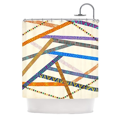 KESS InHouse Unparalleled Shower Curtain