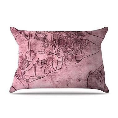 KESS InHouse Magic Tricks Pillow Case; Standard