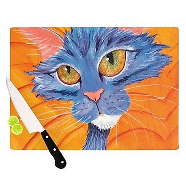 KESS InHouse Tell Me More Cutting Board; 11.5'' H x 15.75'' W x 0.15'' D