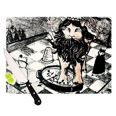 KESS InHouse King Leo Cutting Board; 11.5'' H x 15.75'' W x 0.15'' D