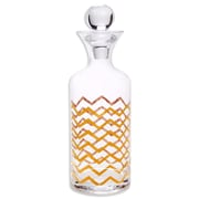 Home Essentials and Beyond Posh Chevron Decanter