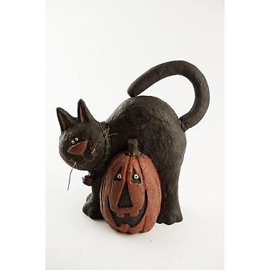 Craft Outlet Cat w/ Pumpkin