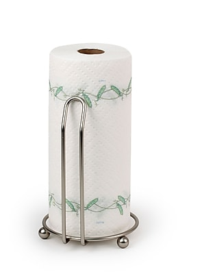 Spectrum Diversified Pantry Works Deluxe Paper Towel Holder; Satin Nickel