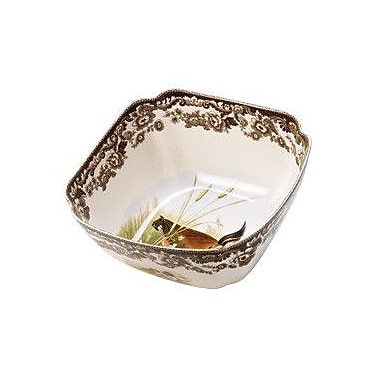 Spode Woodland Quail and Lapwing Serving Bowl