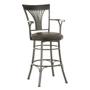 Steve Silver Furniture Karol 30'' Swivel Bar Stool