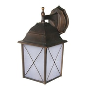 Whitfield Lighting Maceo 1-Light Outdoor Wall Lantern; Oil Rubbed Bronze