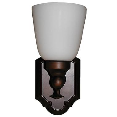 Whitfield Lighting Peleh 1-Light Wall Sconce; Coffee