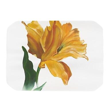 KESS InHouse Yellow Tulip Placemat