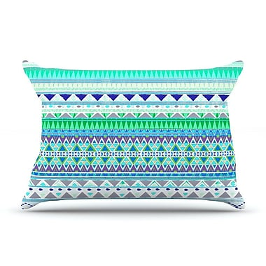 KESS InHouse Emerald Chenoa Pillow Case; King