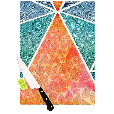 KESS InHouse Pyramids of Giza Cutting Board; 11.5'' H x 15.75'' W x 0.15'' D