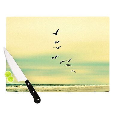 KESS InHouse Across The Endless Sea Cutting Board; 11.5'' H x 15.75'' W x 0.15'' D