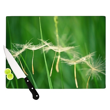 KESS InHouse Best Wishes Cutting Board; 8.25'' H x 11.5'' W x 0.25'' D