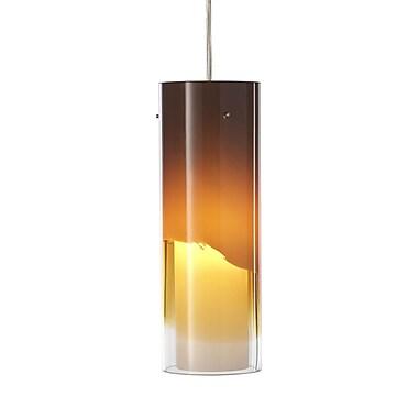Philips Capri 1-Light Mini Pendant; Amber