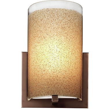 Philips 7'' Bow Glass Cylindrical Wall Sconce Shade